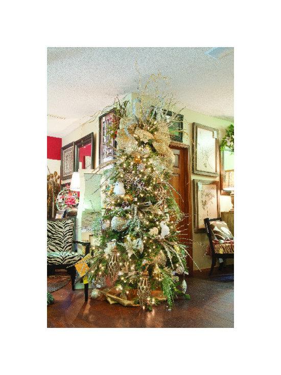 Tree Decorating Services - Christmas Tree Decorating and Custom Floral Design www.sackstedersinteriors.com