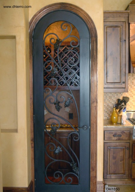 Iron Doors - Interior - Mediterranean - Interior Doors - other metro - by D'Hierro Hand Forged Iron