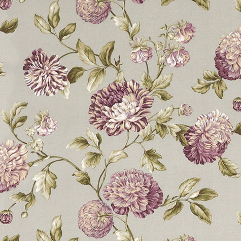 Catana Floral Lavender Fabric Traditional By
