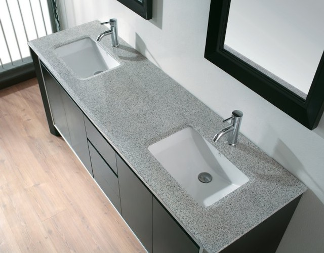 Double Sink Vanity Contemporary Bathroom Vanities And Sink Consoles