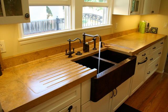 Galley Kitchen Upgrade traditional-kitchen