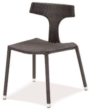 emu® Isis Stacking Chair modern-outdoor-lounge-chairs