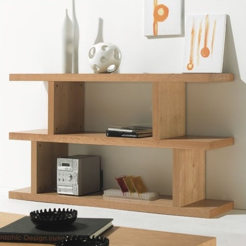 "Step Low 35"" H Shelving Unit - Modern - Display And Wall Shelves - by ..."