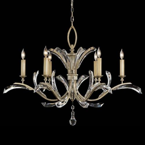 Beveled Arcs No. 702440 Chandelier by Fine Art Lamps traditional-chandeliers