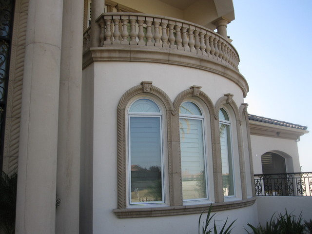 Architectural Moulding Designs : Precast architectural trim and accents mediterranean