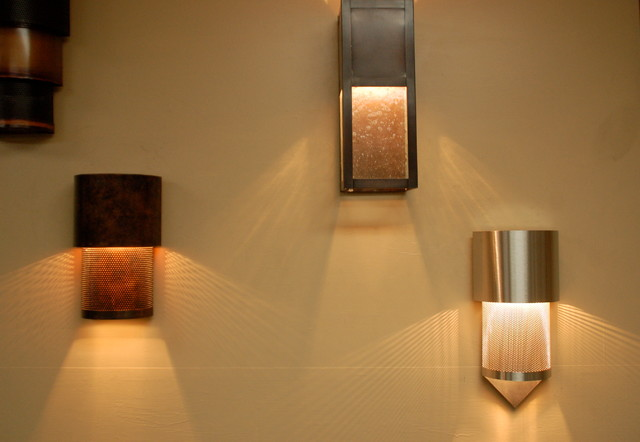 Dark Sky compliant wall sconce - contemporary - wall sconces