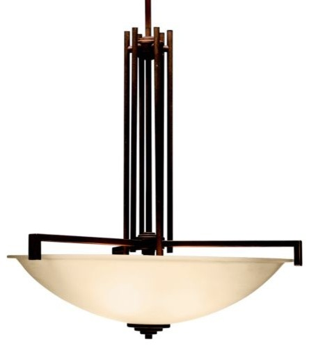 Eileen Bowl by Kichler contemporary-pendant-lighting