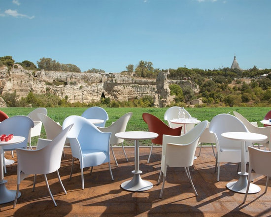 LORD YO Stacking Chair by Philippe Starck - In stock in ivory and white