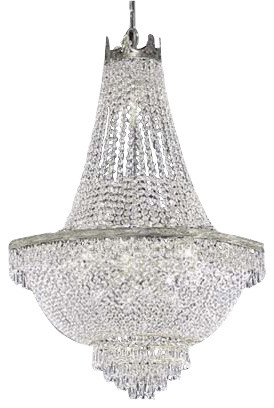 Chandelier With Swarovski Crystal Traditional Chandeliers By