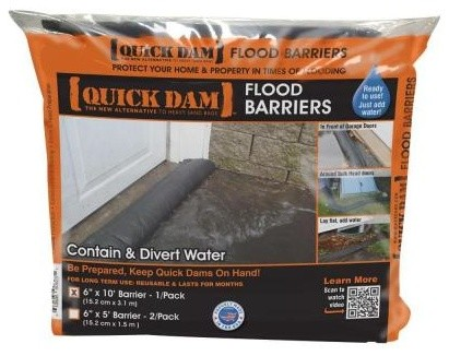 Landscape Accessories: 6 in. x 17 ft. Expanding Barrier QD617-1 contemporary-books