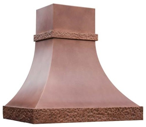 Copper Range Hood | Double Trim | Vogler range-hoods-and-vents