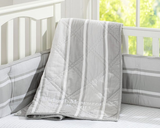 Jackson Stripe Nursery Bedding -