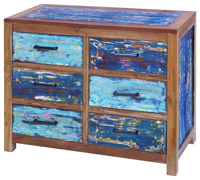 Sturdy Wooden Chest of Drawers with Ample Storage Capacity traditional-dressers-chests-and-bedroom-armoires