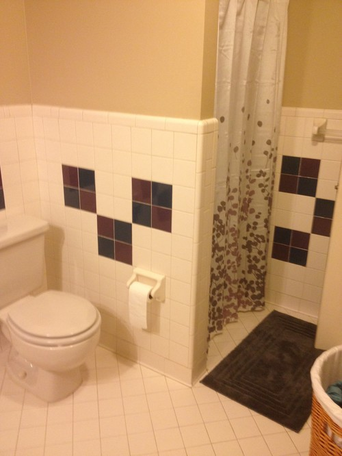 Perfect Bathroom Tile Work Bathroom W Custom Shower Amp Tile Work