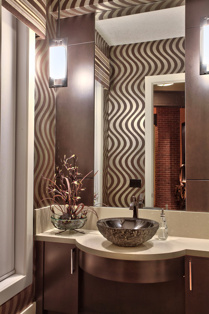 2012 Foothils Lottery Home contemporary-powder-room