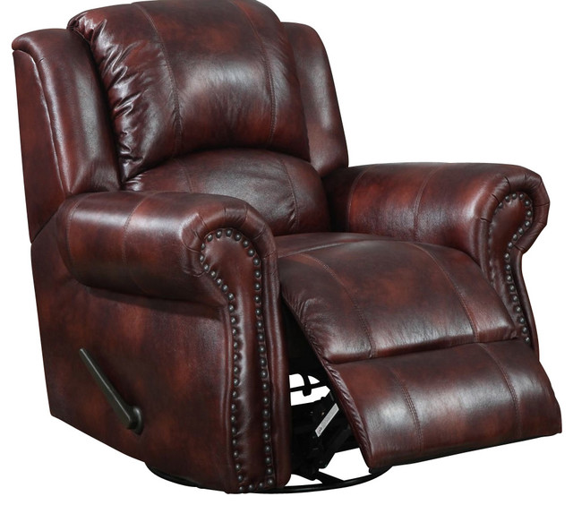 chair in burgundy microfiber traditional living room chairs by