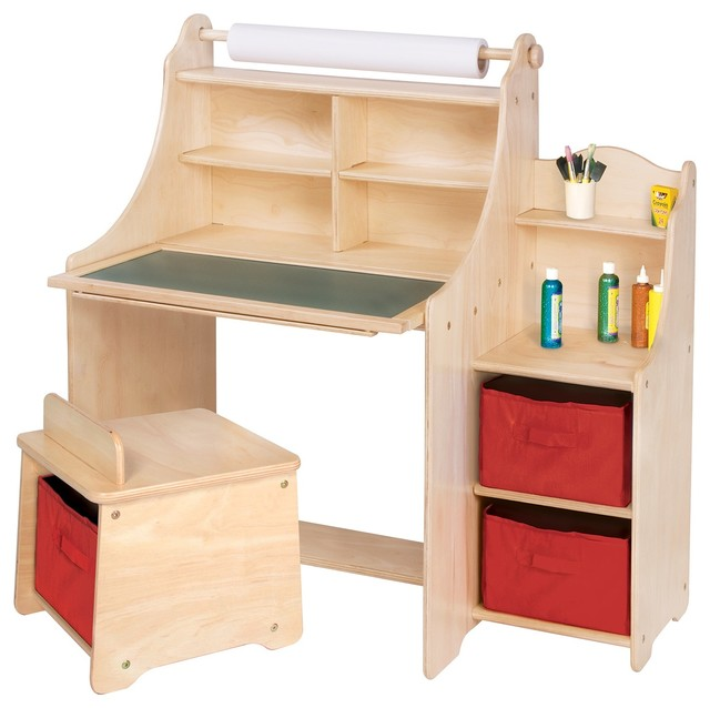 Guidecraft Artist Activity Desk Transitional Kids