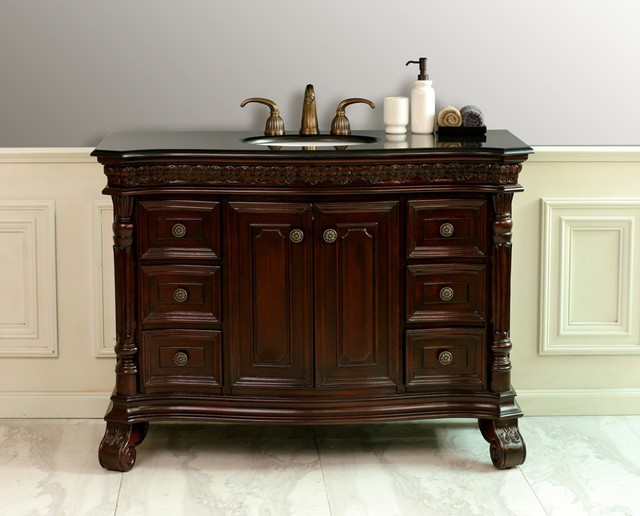 29 elegant antique looking bathroom vanities for Looking for bathroom vanities