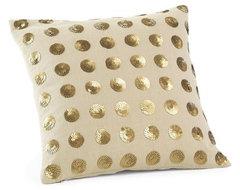 Bijoux-Dots Pillow Cover eclectic-decorative-pillows