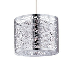 Inca Mini Drum Pendant contemporary-pendant-lighting