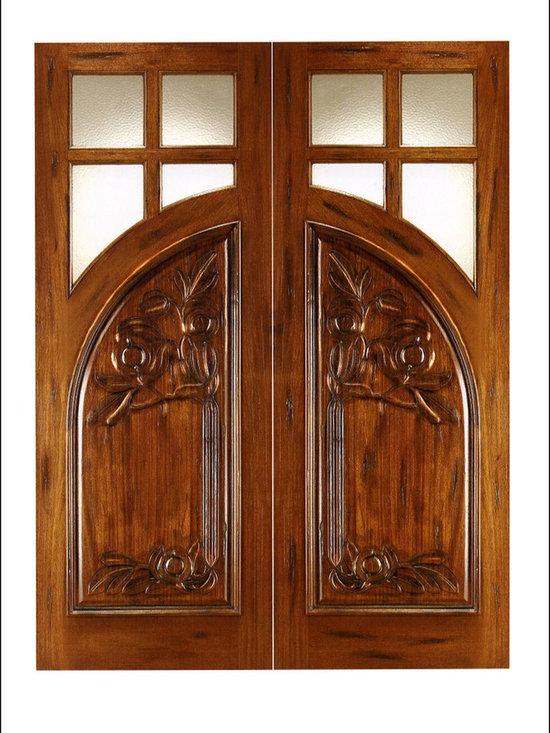 Art Nouveau Entry Doors Model # AN-2011 -