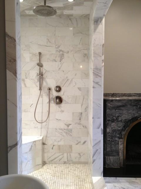 Calacatta Shower