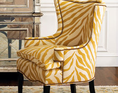 Sunflower Zebra Chair traditional chairs