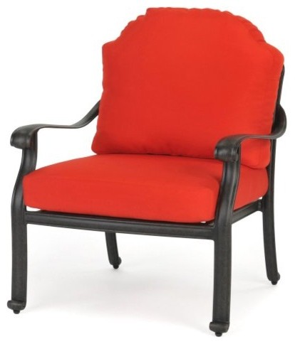 Caluco Castelle Club Chair traditional outdoor chairs