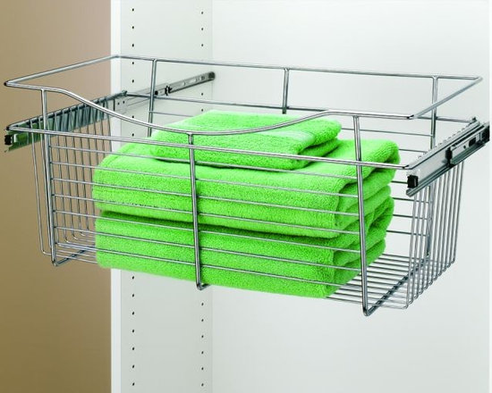 Product & Accessory Ideas - Medium full extending basket CHROME