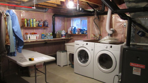 thinking of using a laundry room pump room will be 9 ft x 8 ft too big