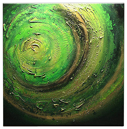 Oil Painting Abstract Modern Contemporary Art On Canvas