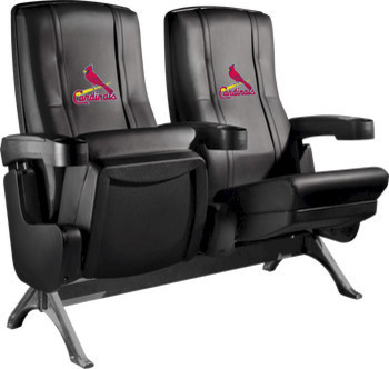 St. Louis Cardinals MLB Row One VIP Theater Seat - Quad traditional-theater-seating