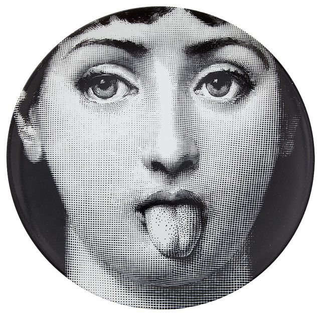 Fornasetti Porcelain Plate modern dinnerware
