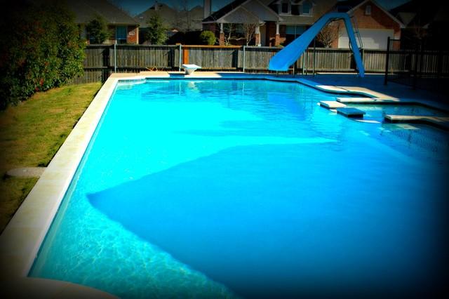 Geometric pool designs for Pool design questions
