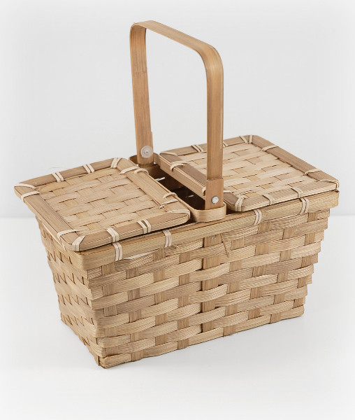 "Small 10"" Picnic Baskets traditional-picnic-baskets"
