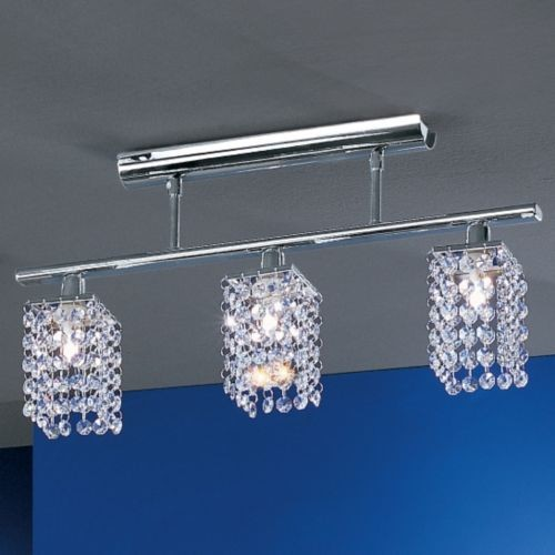 Pyton 3-Light Semi-Flushmount contemporary ceiling lighting