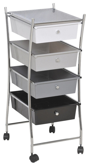 Creative Drawer Storage Cart In Bathroom Organizers