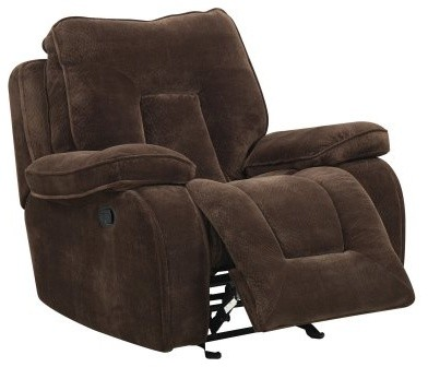 Global Furniture U3090 Glider Recliner - Chocolate Brown modern-armchairs-and-accent-chairs