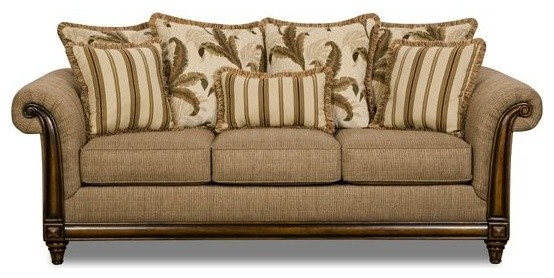 Simmons Upholstery Tiki Queen Sleeper Sofa