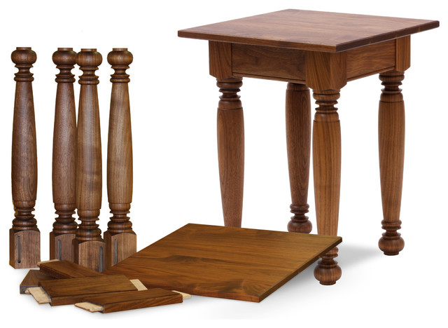 Table base kits farmhouse coffee tables burlington for Coffee table kit