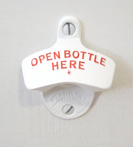 Wall-Mounted Bottle Opener farmhouse-wine-and-bottle-openers