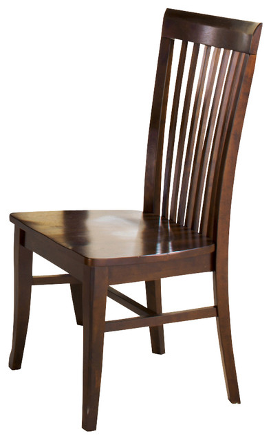 Steve Silver Angel Side Chair in Espresso (Set of 2) contemporary-dining-chairs