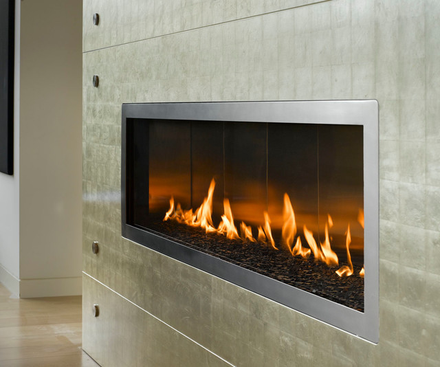 True Custom Linear Burner Contemporary Indoor Fireplaces Vancouver By Vancouver Gas