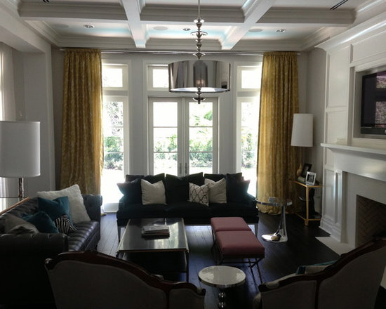 Drapery Ideas - This is absolutely one of my favorite rooms in recent memory.