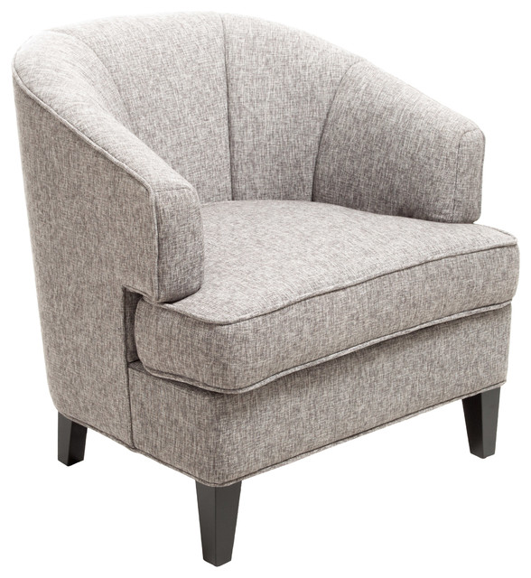 Camden Grey Fabric Club Chair