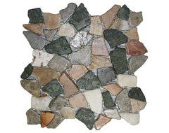 Glazed Autumn Mosaic Tile rustic-mosaic-tile