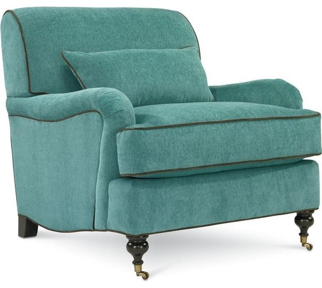 Teal Accent Chairs. Accents Classique Upholstered Chair With ...