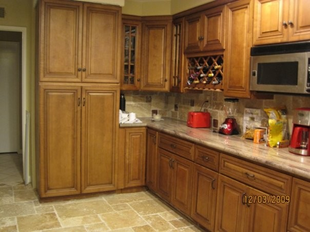 O'Neil Coffee Kitchen traditional-kitchen-cabinets