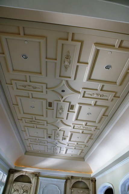Custom ceiling patterns traditional dallas by for Custom ceiling designs