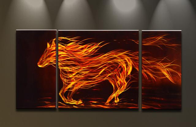 Modernes Design Malerei : Wandbilder abstrakte kunst moderne malerei auf metall